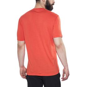 Aclima LightWool Henley Shirt Men Poinciana